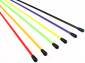 6 assorted colors antenna pipe