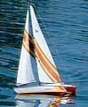 DUMAS Huson 24 Sailboat Kit (1117)