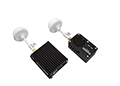 DJI 5.8GHz TX and RX Videolink inc Clover Leaf Antennas AVL58