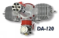 Desert Aircraft DA-120 Twin Petrol Engine