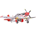 FMS 1700mm P-51 Mustang Red Tail ARTF Warbird - Due Feb 2020