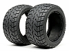 HPI 4840 - Tarmac Buster Tyre M Compound (170x80mm/2pcs)