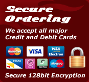 Secure Ordering - Secure 128bit Encryption